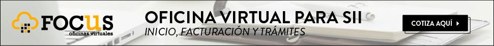 iniciación de actividades, oficinas virtuales Focus