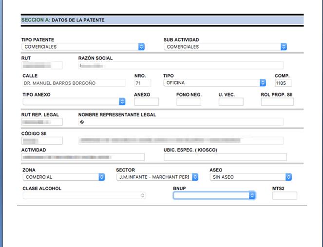 Patente Municipal Providencia Online 3.0