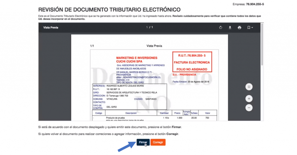 Emitir Factura Electronica (11)