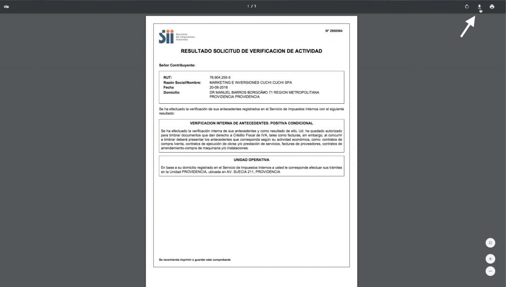 Solicitud Verificación Actividades paso 7