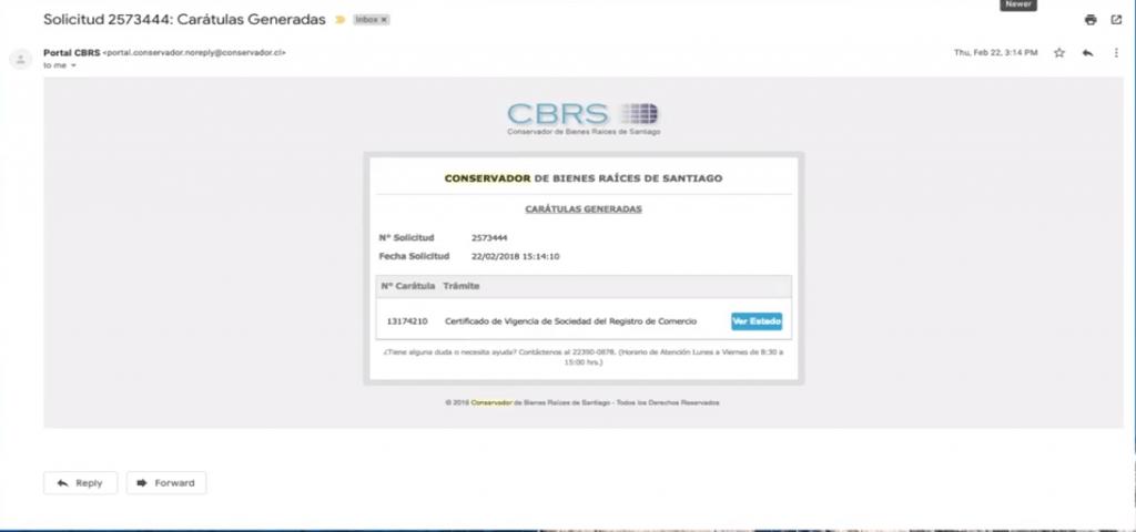 certificado de vigencia registro de comercio paso 14